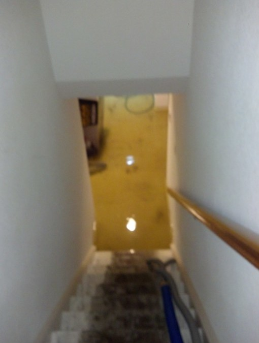 Flooding in Denver Home Requiring Heavy Pump Out