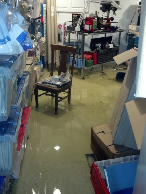 Denver Home Hit by Water Damage Affecting Contents